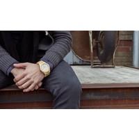 T1M3 Armbanduhr aus Bambus Herren