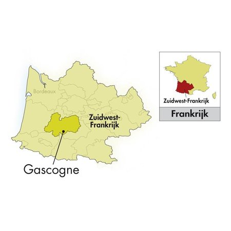 2019 Famille Fezas Gascogne Java Blanc