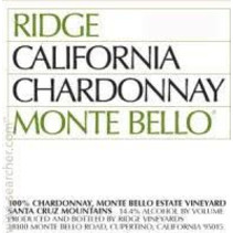 2013 Ridge Monte Bello Chardonnay