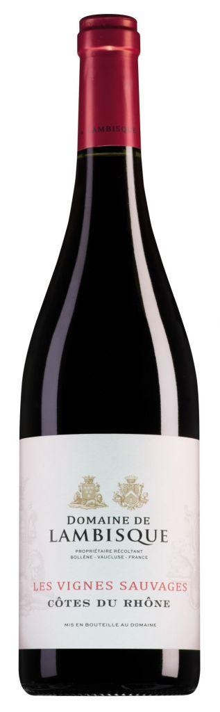 Domaine de Lambisque Côtes du Rhône Les Vignes Sauvages 2018