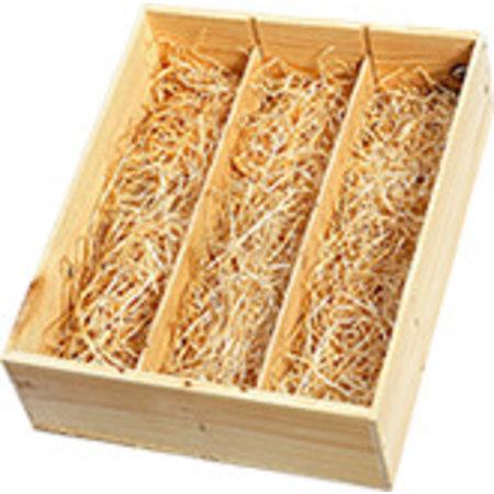 Geschenkbox aus Holz 3 Flaschen