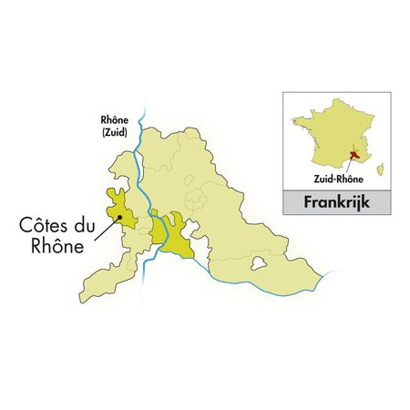 2019 Le Clos du Caillou Côtes du Rhône Le Bouquet des Garrigues wit