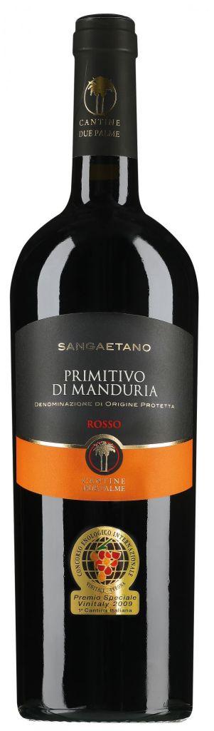 Cantine Due Palme Cantine Due Palme Primitivo di Manduria Sangaetano magnum 2019