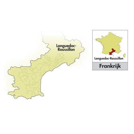 2018 Domaine Coudoulet zahlt d'Oc Le Rouge de Fontgaline