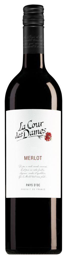 Badet-Clément La Cour des Dames Pays d'Oc Merlot 2019