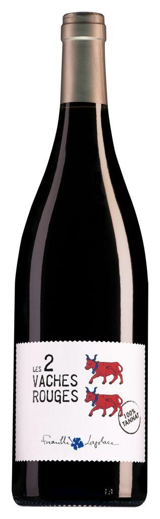 Famille Laplace Vin de France Les 2 Vaches Rouges Tannat 2018