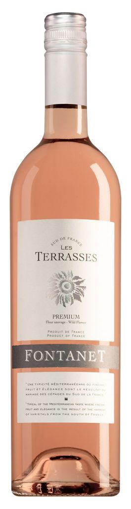 Fontanet Pays d'Oc Les Terrasses rosé 2020