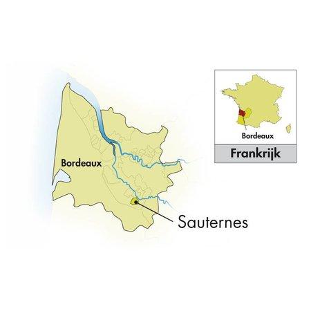 Château Suduiraut Sauternes Lions de Suduiraut halbe Flasche