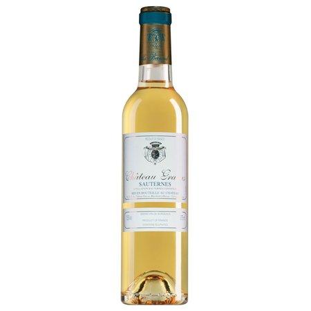 2015 Château Gravas Sauternes half bottle