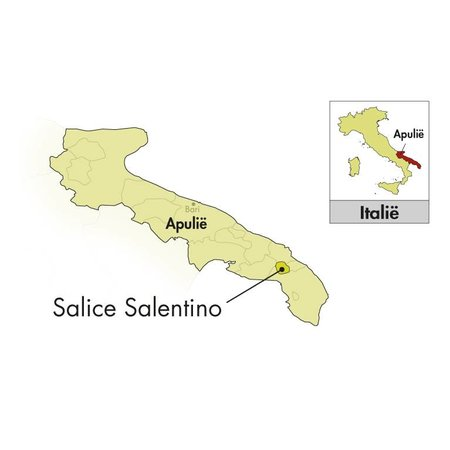 Cantine Due Palme Aufgrund Palme Salice Salentino Montecoco 2017