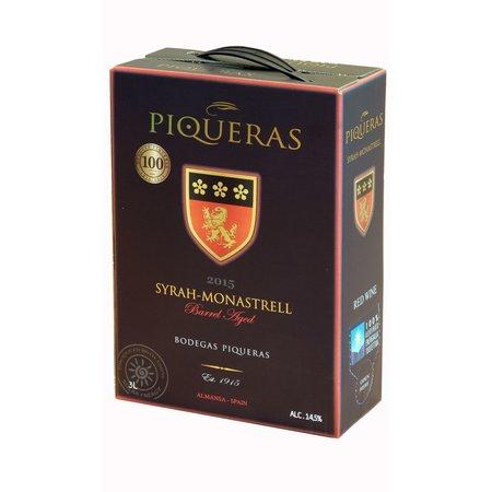 2018 Piqueras Monastrell-Syrah BIB (bag in box) 3 liters