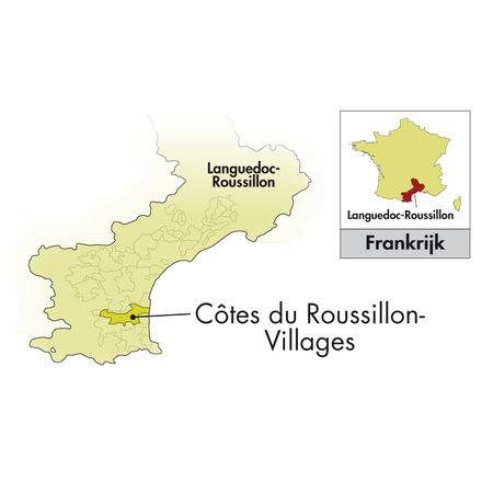2017 Clos del Rey Côtes du Roussillon Dörfer