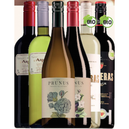 The best-selling wines under the 8-euro Trial package