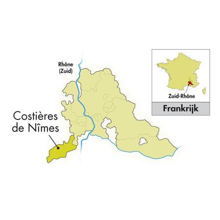 2019 Château Mourgues du Grès Costières de Nîmes Rocky Nuns Viognier