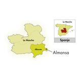 2015 Bodegas Piqueras Almansa gegen Monastrell-Garnacha Tintorera