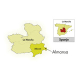 Piqueras Bodegas Piqueras Almansa gegen Monastrell-Garnacha Tintorera 2016