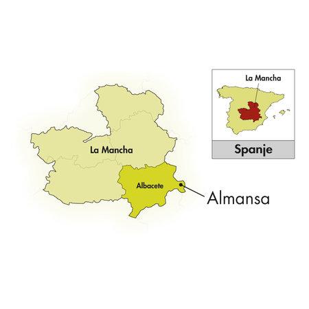 Piqueras Bodegas Piqueras Almansa V.S. Monastrell-Garnacha Tintorera 2016
