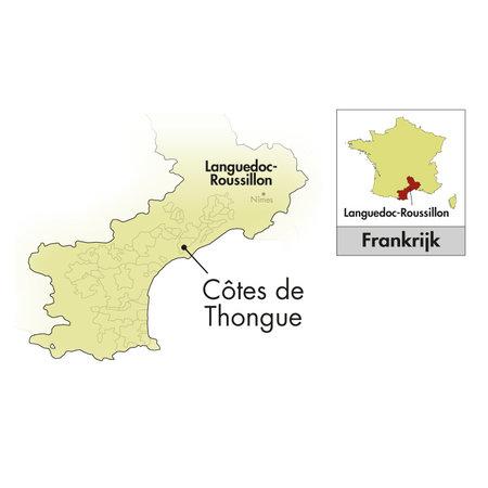 2018 Domaine de l'Arjolle Côtes de Thongue Fumé Rouge