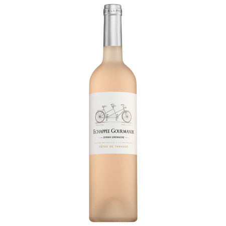 2019 Échappée Gourmande Côtes de Thongue Syrah-Cabernet Franc rosé
