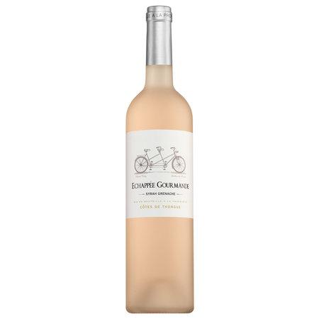 Échappée Gourmande Côtes de Thongue Syrah-Grenache Rosé 2020