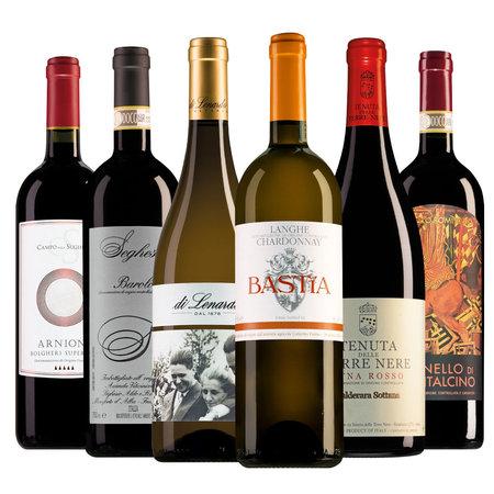 Weinpaket Luxus italienische Weine