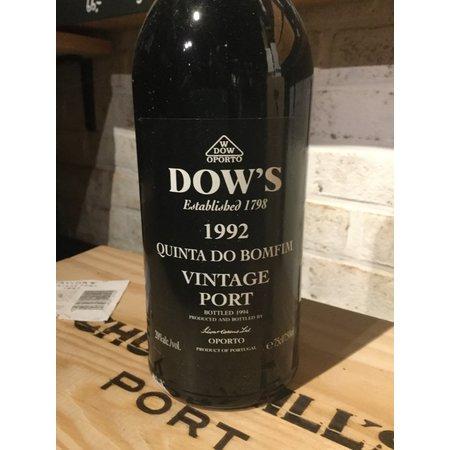 1992 Dow's Vintage Port