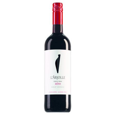 L'Arjolle Côtes de Thongue Equilibre Zéro Merlot-Grenache Rouge alcoholvrij 2020