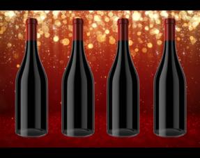Werbegeschenk 4 Flaschen