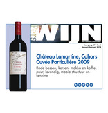 Chateau Lamartine Cahors Cuveacutee Particuliegravere 2018