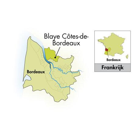 Schloss Cap Saint-Martin Blaye Côtes de Bordeaux Cuvée Prestige Sauvignon Blanc 2019