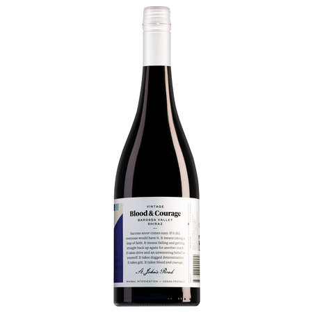 St. John's Road Barossa Valley Blood and Courage Shiraz 2018