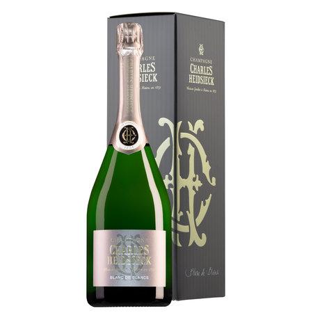 Charles Heidsieck Champagne Blanc de Blancs in geschenkdoos