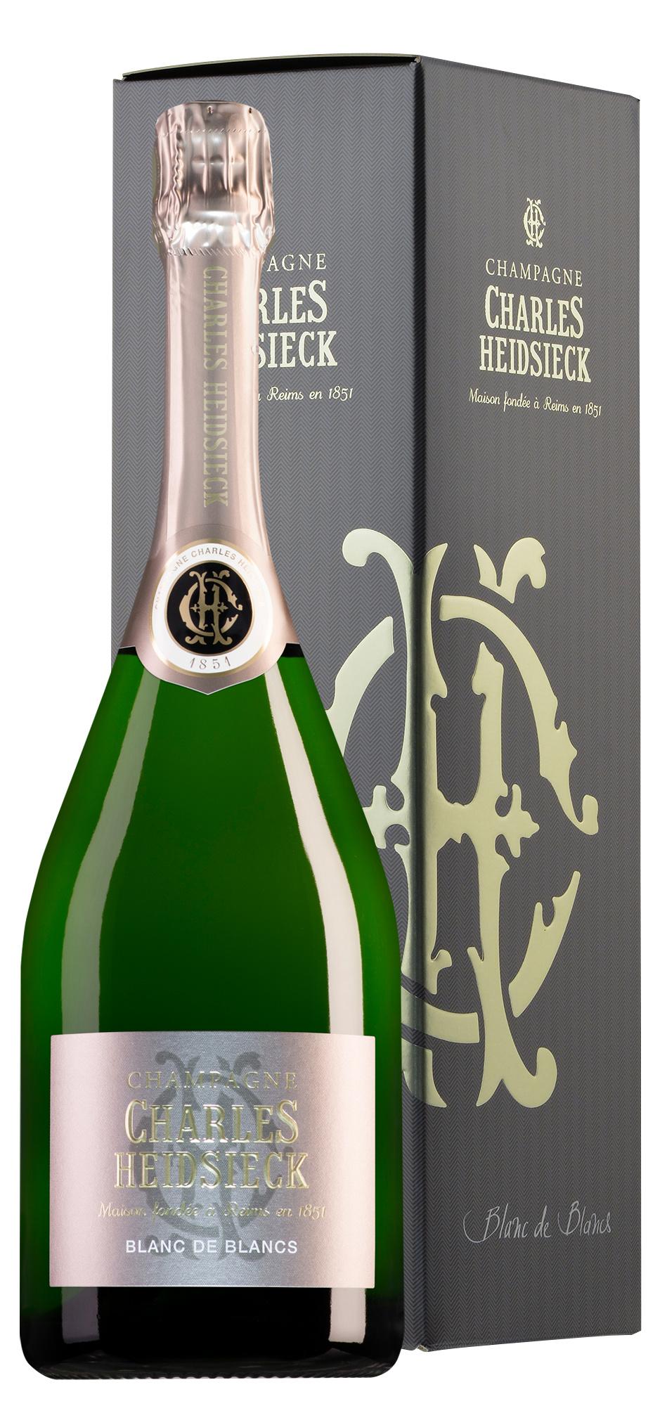 Charles Heidsieck Charles Heidsieck Champagner Blanc de Blancs in Geschenkbox