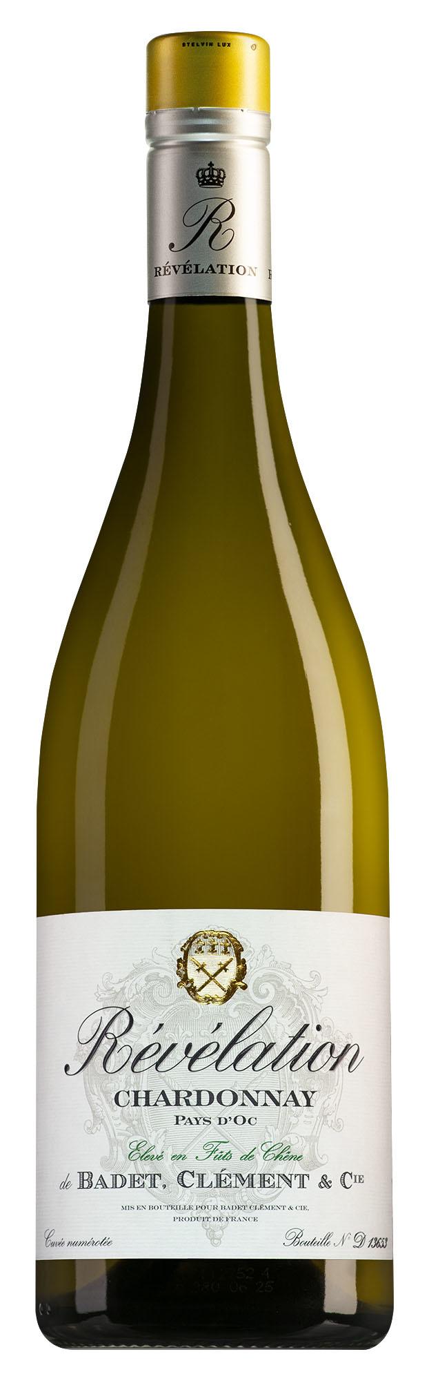 Badet-Clément Révélation Pays d'Oc Chardonnay 2020