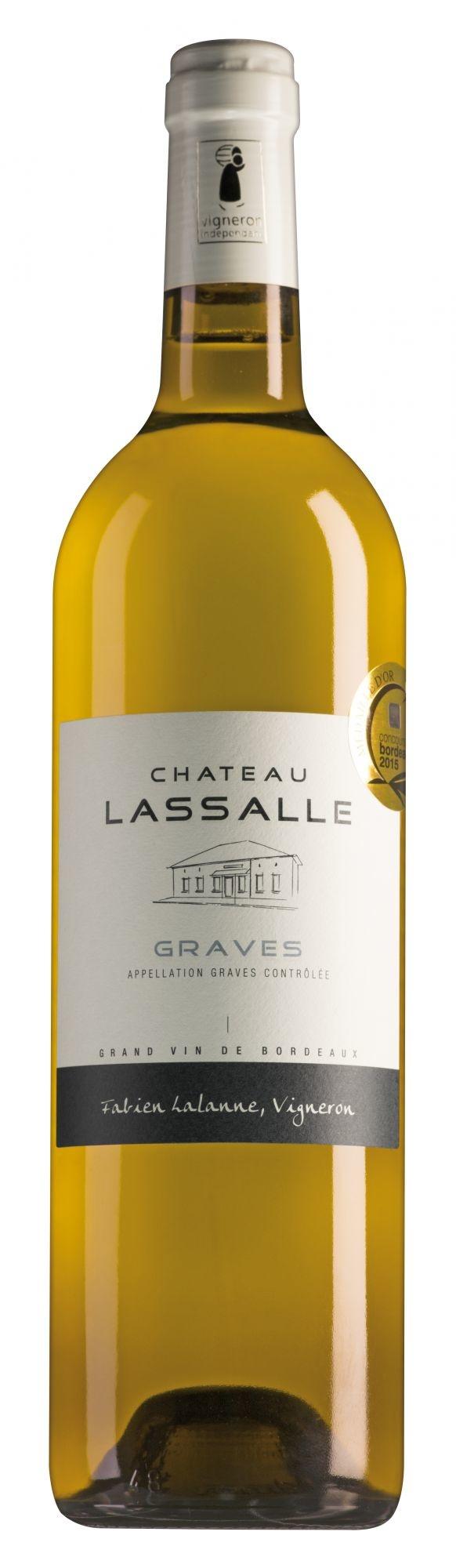 Château Lassalle Graves Blanc 2018