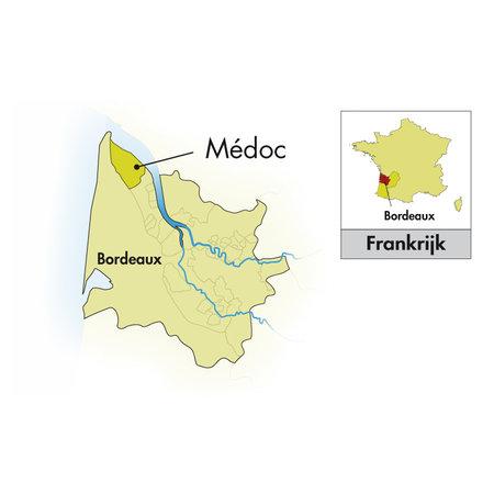 2014 De Bensse Médoc