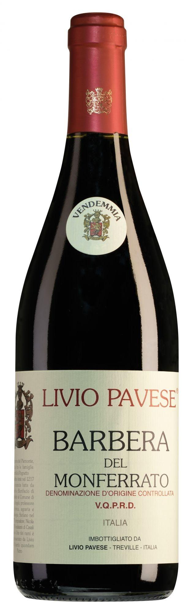 Livio Pavese Barbera del Monferrato 2020