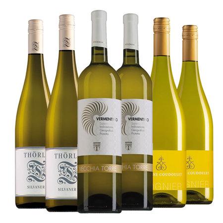 Proefpakket asperge wijnen