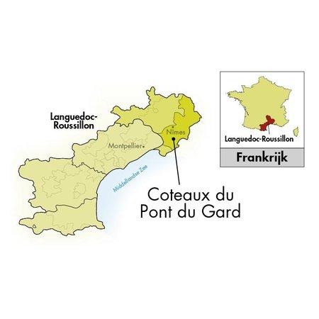Château Mourgues du Grès Pont du Gard Fleur d'Aubépine 2020