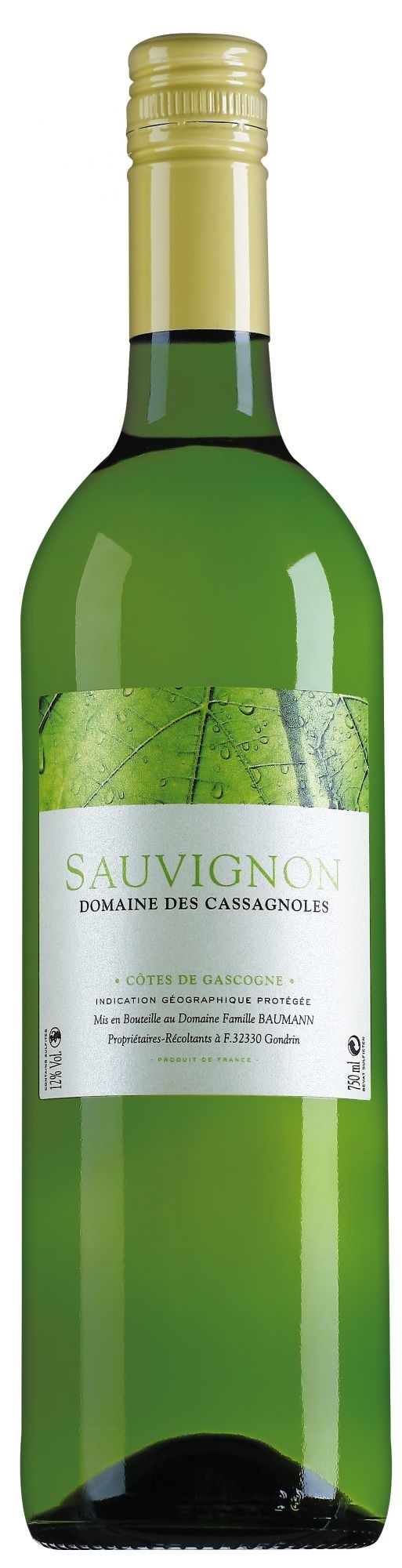 Domaine des Cassagnoles Gascogne Sauvignon Blanc 2020