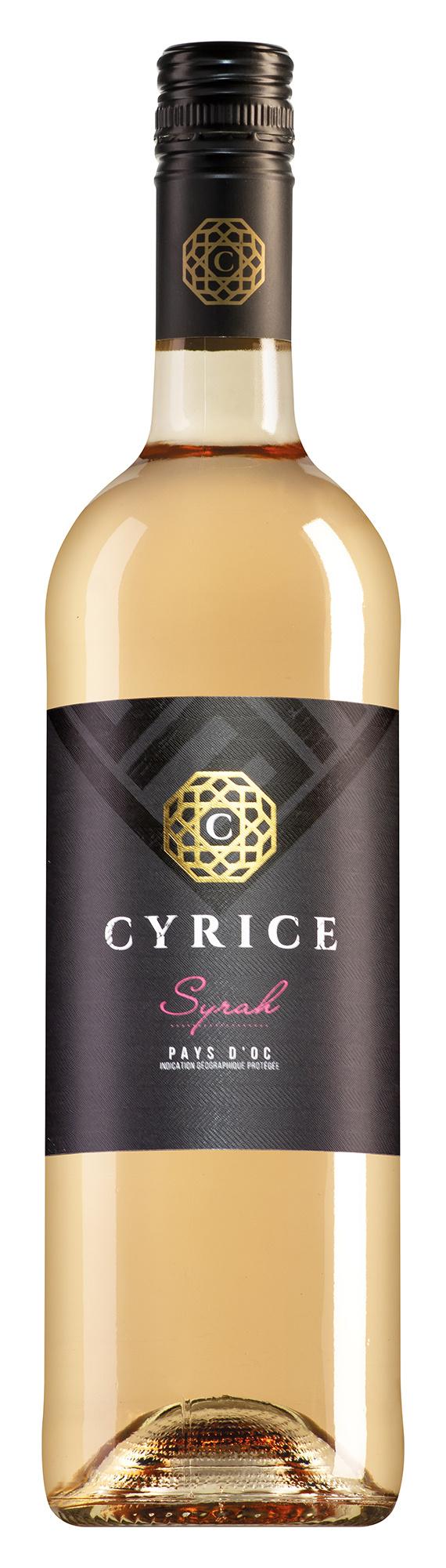 Cyrice Pays d'Oc Syrah rosé 2020