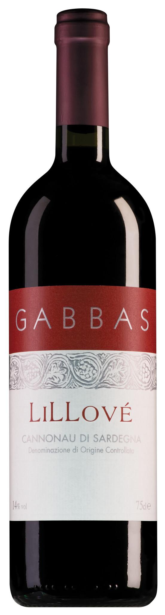 Gabbas Cannonau di Sardegna Lillové 2019