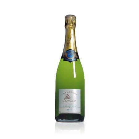 De Sousa & Fils  De Sousa Champagne Tradition Brut halve fles