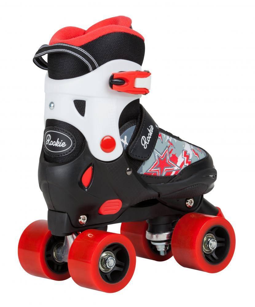 ROOKIE ROLLERSKATES Rookie Ace Kinderrollschuhe Junior Verstellbar