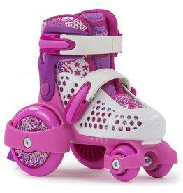 SFR SFR Stomper verstellbare Rollschuhe Kinder pink Mädchen