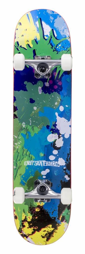 ENUFF SKATEBOARDS ENUFF SPLAT SKATEBOARD GROEN/BLAUW