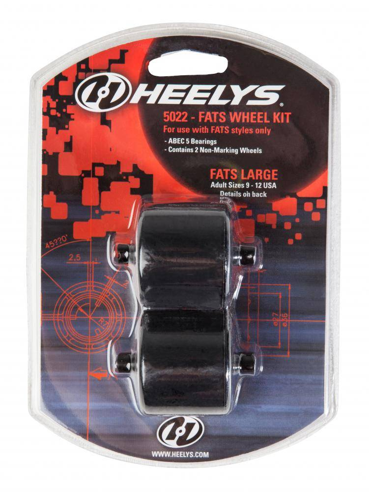 HEELYS HEELYS FATS WHEELS, ABEC 5