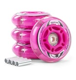 SFR SFR LIGHT UP INLINE WHEELS, PINK