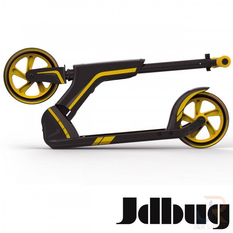 JD BUG JD BUG SMART 185  STEP 10+ ,ZWART/ORANJE