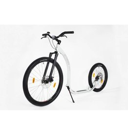 KICKBIKE KICKBIKE 'CROSS FIX'  STEP,  WHITE 12+